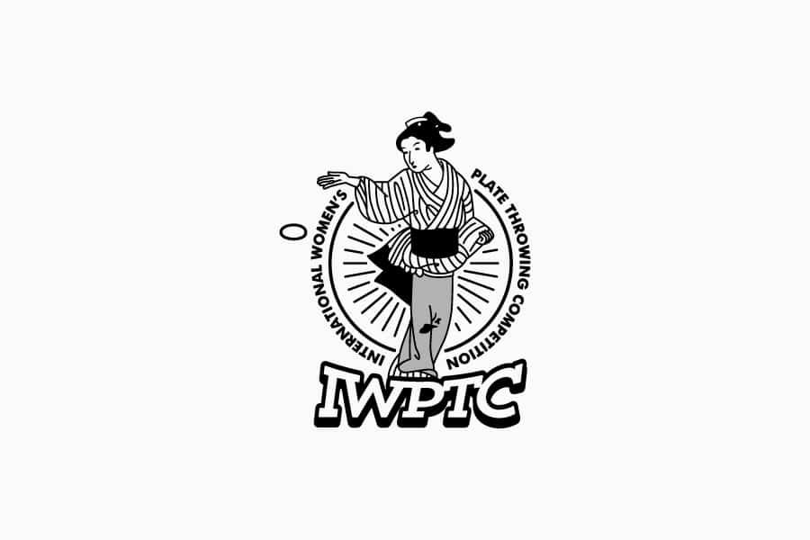 国際女子かわらけ投げ大会ロゴ